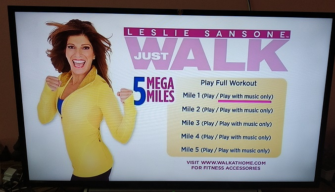 lesliesansone1 - Exercise at home with Leslie Sansone- very enjoyable