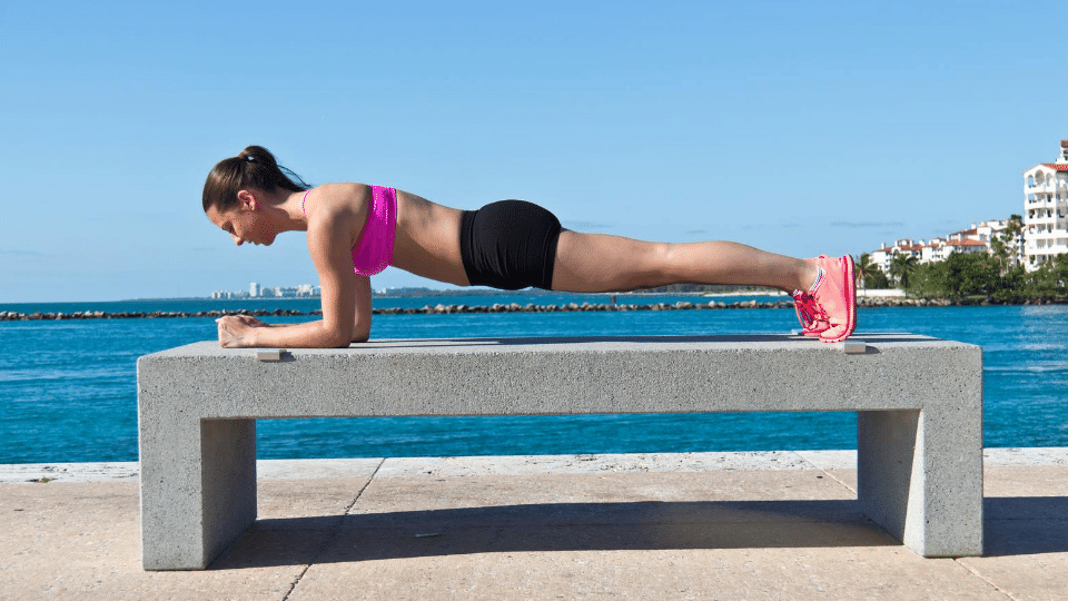 yoga plank - No energy for cardio workouts? Try this...