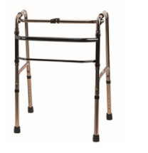 mobility walkingframe - How to get the elderly to use walking aids/ commode when they have mobility issues