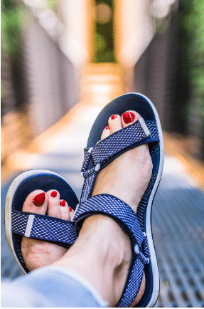sandals - Sandals for those with painful cracked heels