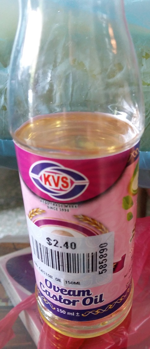 Castor Oil (Minyak jerai)