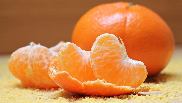 Mandarin oranges causes cough