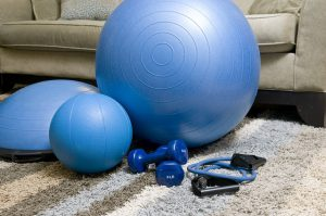 home fitness equipment gym 300x199 - How to reduce a hunched back through exercising