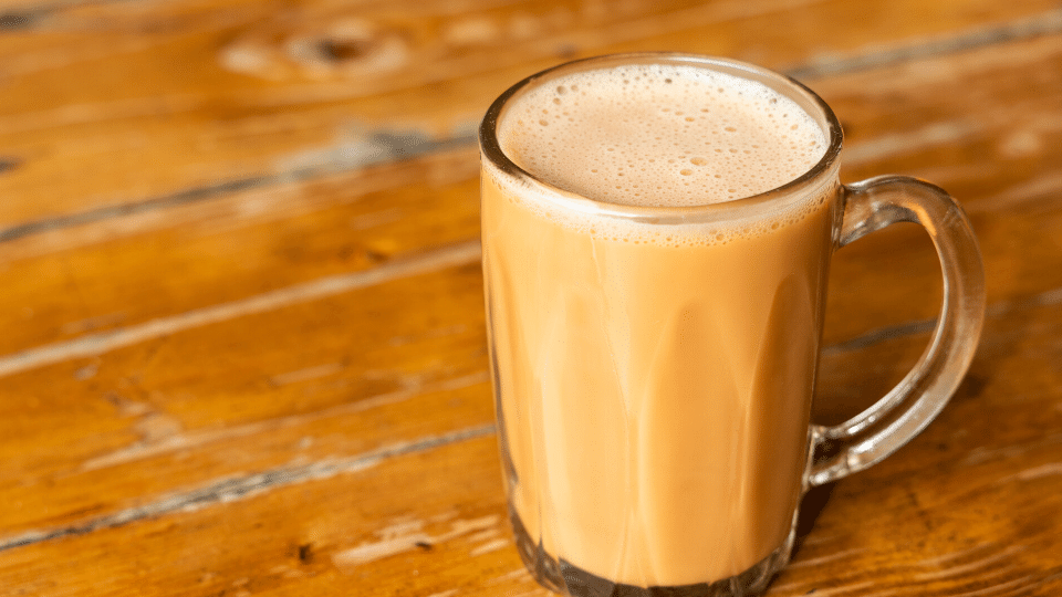 teh tarik - Does teh tarik (pulled milk tea) have caffeine?
