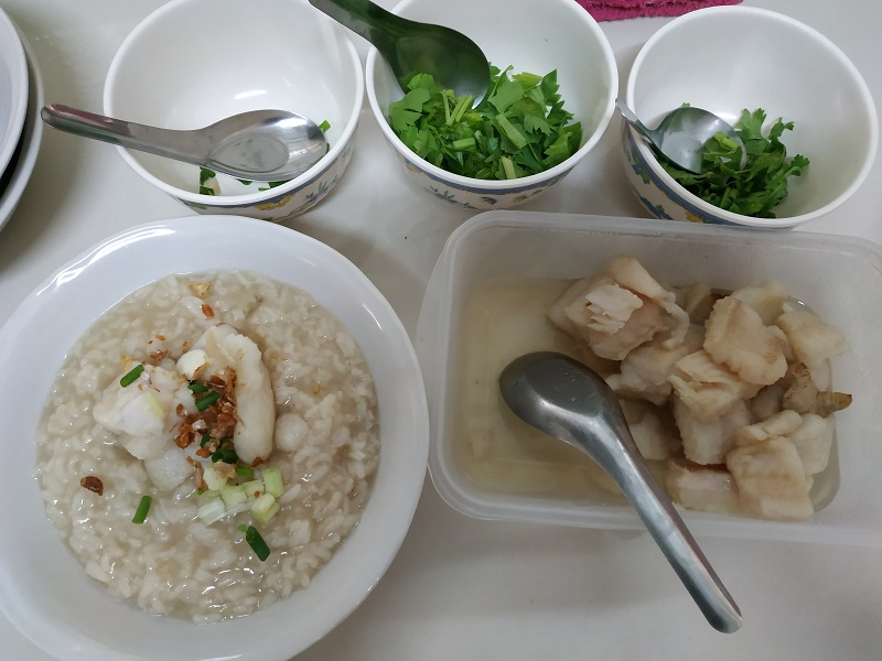 Rice porridge very good for digestive system