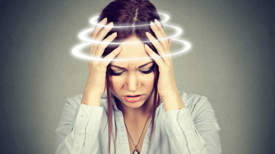 dizzy - Chiropractic adjustments for vertigo or dizziness
