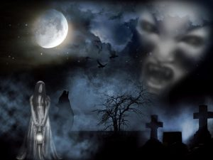 cemetery 2775986 1280 300x225 - Depression and suicide due to influence of malevolent and evil spirits
