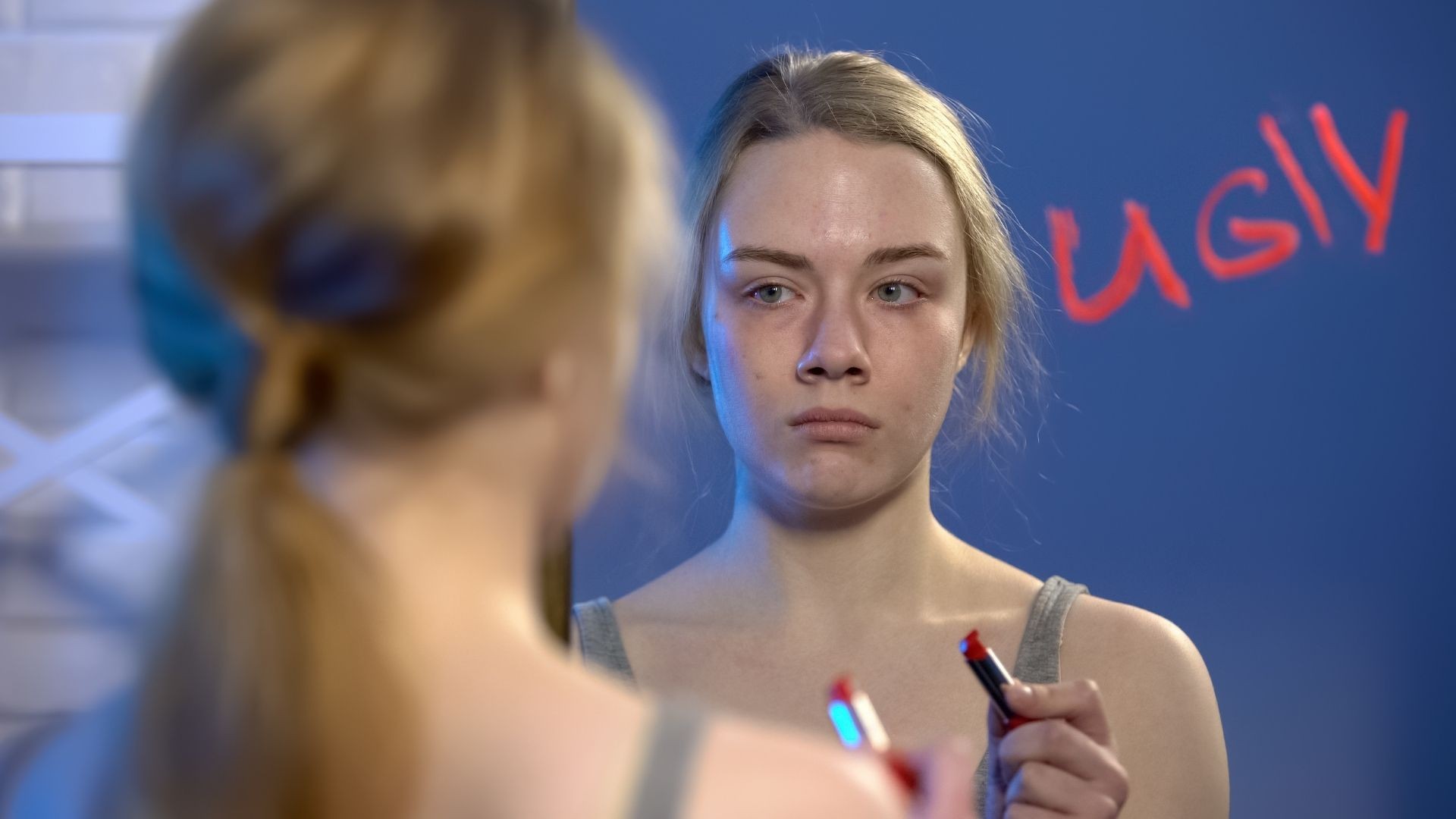 woman feeling ugly - It is okay to be unpretty or ugly