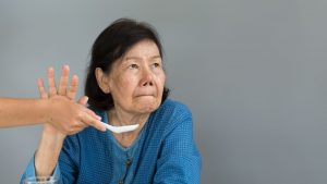 senior refusefood 300x169 - Placing my mom on Nose Tube Feeding due Dysphagia (end stage Alzheimer's)